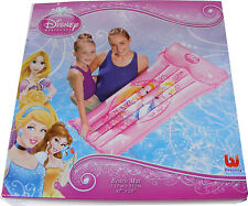 DISNEY PRINCESS INFLATABLE MATTRESS LILO BEACH MAT AIR BED FOR SWIMMING POOL NEW