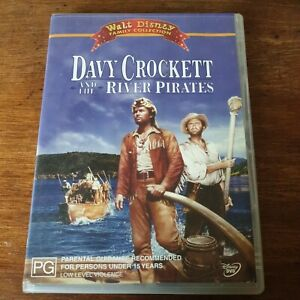 Davy Crockett and the River Pirates DVD R4 VGC! FREE POST