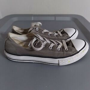 Converse All Star Chuck Taylor Youth Boys Size 3 Shoes Gray/White Low Sneakers