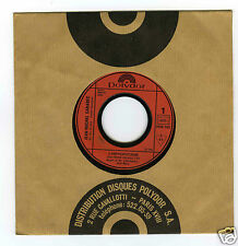 45 RPM SP  (PROMO) JEAN MICHEL CARADEC L'HIPPOPOTAME / LES SECRETS