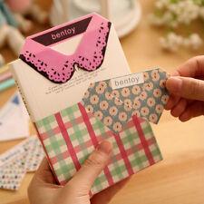 Creative Paper Clips Bookmark Korean Stationery Notebook Tools Random