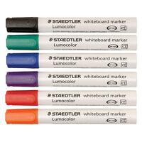 Staedtler Lumocolor 351 Whiteboard Drywipe Marker Pens - Bullet Tip