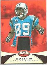 2013 CERTIFIED STEVE SMITH SHORT PRINT JERSEY CARD /99 PANTHERS RED MIRROR