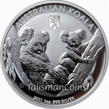 Australia 2011 Koala Berlin World Money Fair WMF Show Special $1 Silver in Box