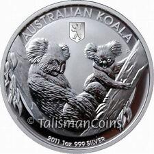 Australia 2011 Koala Berlin World Money Fair WMF Show Special $1 Silver in Box