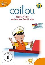 CAILLOU, DVD 11: Kapitän Caillou und weitere Geschichten (NEU+OVP)