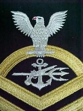DEVGRU SEAL TEAM GOLD CHIEF PETTY OFFICER CROW FOR DRESS BLUE UNIFORM