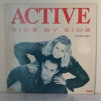 "Active ‎– Side By Side (Vinyl 12"", Maxi 33 Tours)"