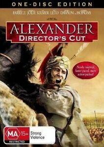 Alexander DVD Epic True Story - Medieval Roman Action Movie_REGION 4