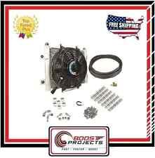 BD DIESEL Xtruded Trans Oil Cooler - 3/8 inch Cooler Lines # 1030606-3/8