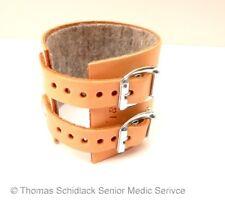 Handgelenkriemen Handgelenk Bandage Leder mit 2 SCHNALLEN 17cm Ypsimed