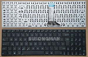 New For ASUS X553M X553MA K553M K553MA F553M F553MA Keyboard No Frame Black UK