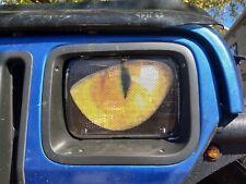 "Headlight covers 5""X7"" Yellow Eyes Jeep Cherokee XJ ""ORIGINAL RUKINDCOVERS"""