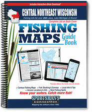 Central Northeast Wisconsin Fishing Map Guide   2016 Edition - SCMaps