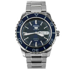 Seiko 5 Sports SNZH53 Automatic Dark Blue Stainless Steel Men's Watch SNZH53K1