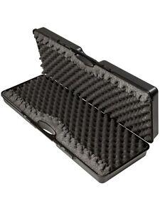 Nuprol Essentials Hard Case Airsoft Rifle Storage Black M/L/XL Wave Foam