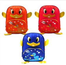 Kidland's Cute Duck Backpack School Bag - Red