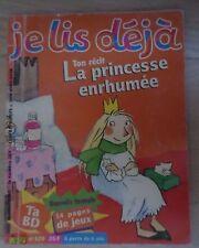 Je lis déjà n °120 La princesse enrhumée