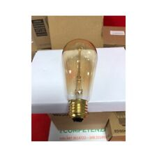 4 x Lampadina Wedna 60W Edison Vintage ST64 E27 lampada bar, luce industriale
