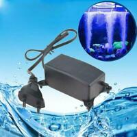 Kleine geräuschlose Sauerstoffpumpe Aquarium Sauerstoffpumpe mit Stecker W2H6