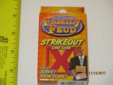 Family Feud Strikeout Card Game - 3+ Players Survey Said Family Fun For Ages 10+