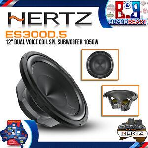 """Hertz ES300D.5 Energy 12"""" Dual Voice Coil SPL Subwoofer 1050W"""
