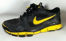 Nike Livestrong Free TR2 LAF Running Shoe Men 7.5 M Yellow Sneakers Black Yellow