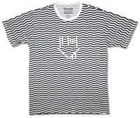 NBHD The Neighbourhood Wavy House Black / White T-Shirt New Official
