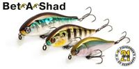 Pontoon21 Bet-A-Shad 63SP-SR fishing lures range of colours original
