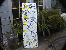 drone art-acrylic painting pads on drone directed to paint the canvas by remote