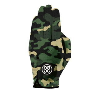 G/Fore Men's Camo Golf Glove Worn on Left Hand - Olive - New 2021 - Pick a Size