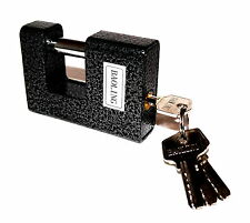 Top Monoblock 90mm Safety Padlock Padlock Chains Rolling Grilles