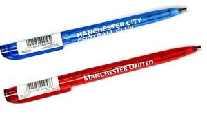 Manchester United Ou Manchester City Rétractable Stylo Cadeaux Officiel Football