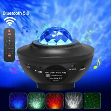 Bluetooth USB LED Projector Starry Night Lamp Star Projection Night Light