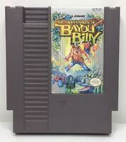 Nintendo NES Adventures of Bayou Billy Game Cartridge *Authentic/Cleaned/Tested*