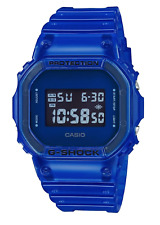 Casio G-Shock Skeleton Series Vibrant 90's Color DW5600SB-2 Clear Blue BNIB