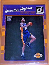 bd072bd0c79 2016-17 Donnruss  152 Brandon Ingram F Lakers RC NM-MT Original NBA