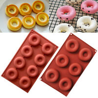 Silicone Donut Muffin Chocolate Cake Candy Cookie Cupcake Baking Pan Mold Mould