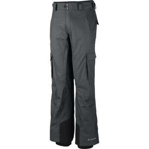 "New Mens Columbia ""Ridge 2 Run II"" Omni-Heat Waterproof Winter Ski Pants"