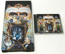 MICHAEL JACKSON - DANGEROUS CD 1991 45400 LONGBOX Original Packaging RARE VG