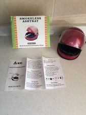 Cenicero Casco Ventilador con Filtro. Smokeless Ashtray Nuevo. Syi-Sa178
