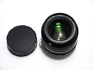 Nikon Nikkor 50mm f1.8 AI Lens (fungus)