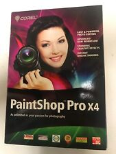 Corel Paintshop Pro X4- Factory Sealed