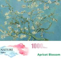 US 1000 Pieces Mini Puzzles Apricot Blossom By Van Gogh Jigsaw Puzzle Adult Kids