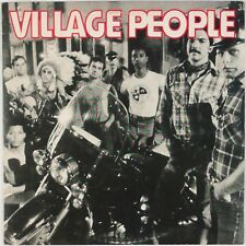 THE VILLAGE PEOPLE: Self Titled '77 Debut CASABLANCA Pop Disco Vinyl LP