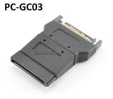SATA 15-pin Male to Female Serial ATA Power Adapter, PC-GC03