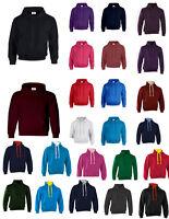 NUEVO Adulto 31 Colores Sudadera Con Capucha Unisex Top xxs-3xl Suéter Polar