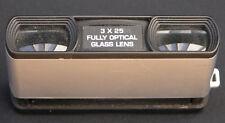 Jessops Bolsillo Prismáticos 3 X 25 Lente de vidrio óptico totalmente-Cuerpo De Aluminio
