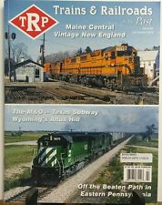 Trains & Railroads of the Past Issue 6 Vintage New England FREE SHIPPING sb