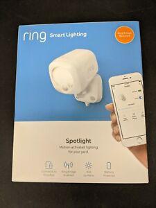 Brand New Ring Smart Lighting Battery-Powered 400-Lumen Spotlight - White